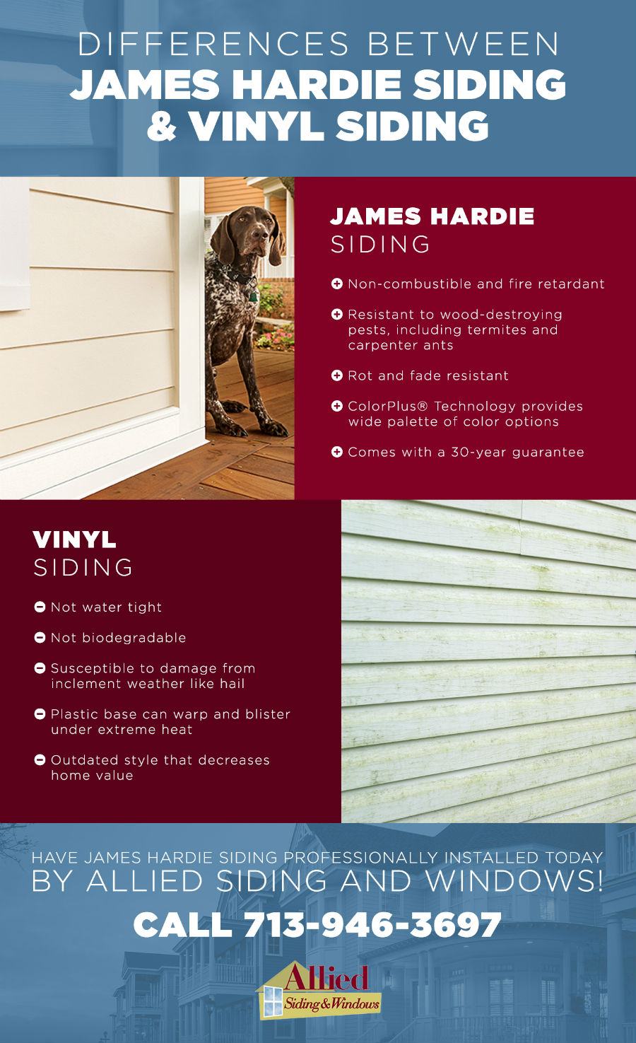 Differences Between James Hardie Siding Amp Vinyl Siding