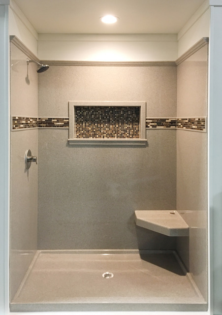After Bathroom Remodel | Allied Siding and Windows